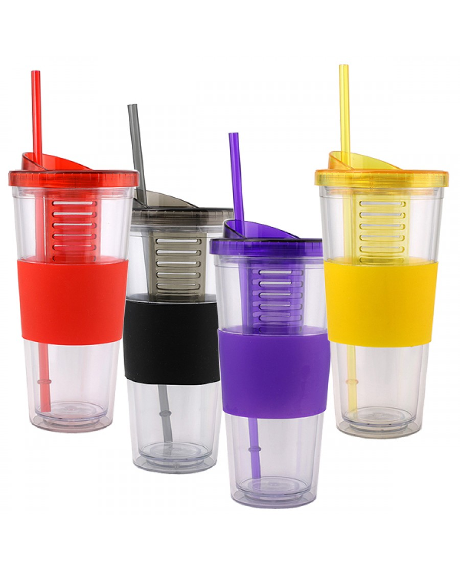 22 oz Tumbler with Infuser Inside