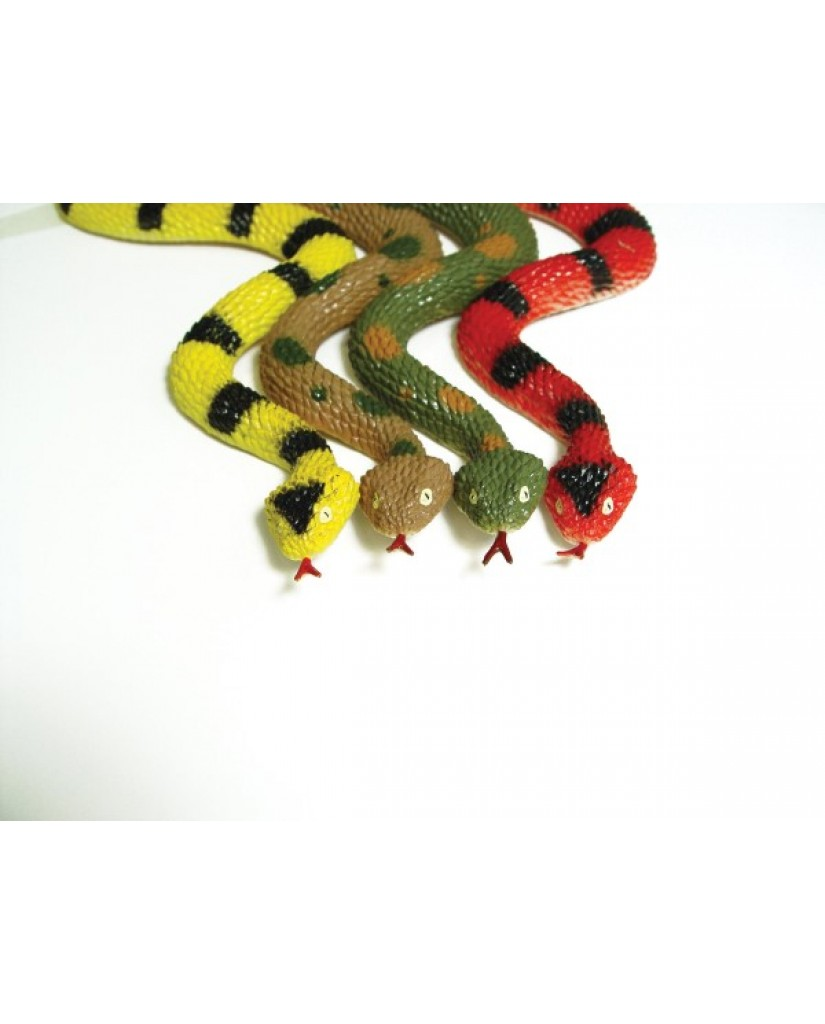 """11"""" Rubber Rattlesnake with Rattle"""