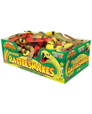 "11"" Rubber Rattlesnake with Rattle"