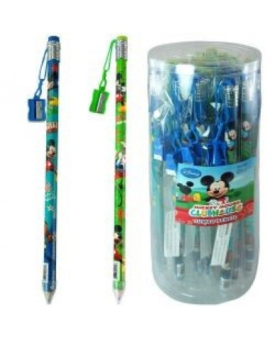 Mickey Jumbo Pencil with Sharpener