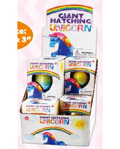 Giant Rainbow Unicorn Hatch Egg