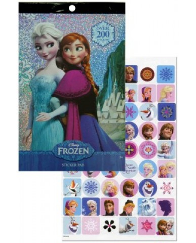 Disney Frozen 200+ Foil Sticker Pad