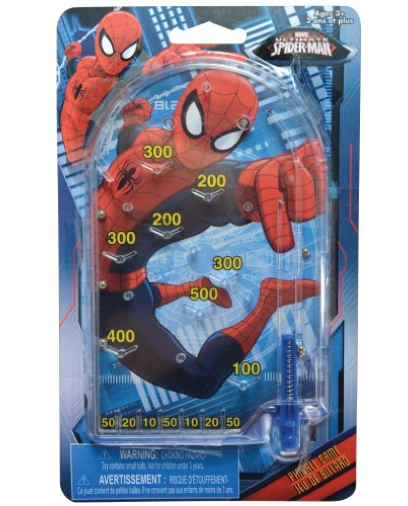 Spider-Man Pinball Machine Game