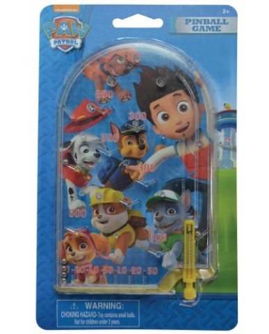Paw Patrol Pinball Machine Game