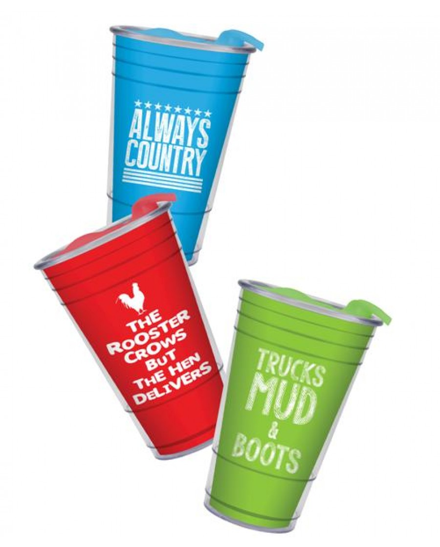 """Talkin' Country"" Party Cups"