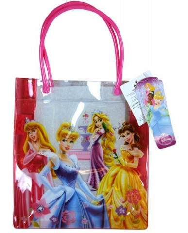 Disney Princess Clear Vinyl Mini Tote Bag