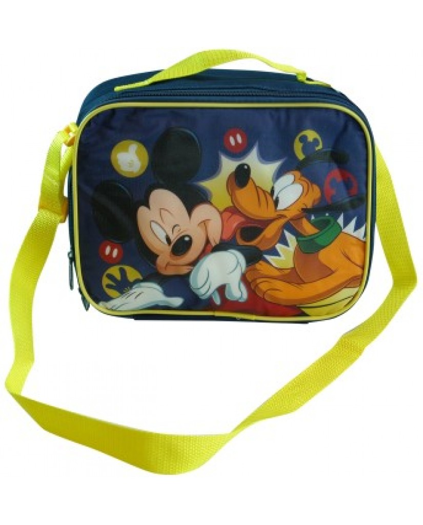 """10"""" Mickey Lunch Bag with Strap"""