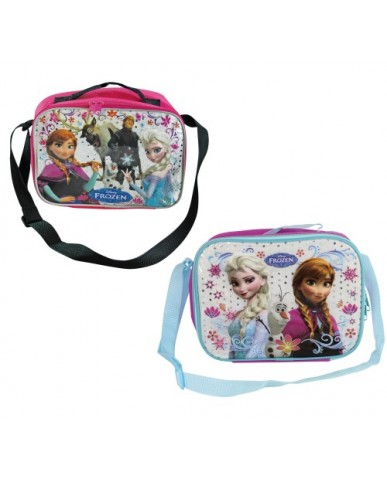 "Disney Frozen 10"" Assorted Rectangle Soft Lunch Bags"