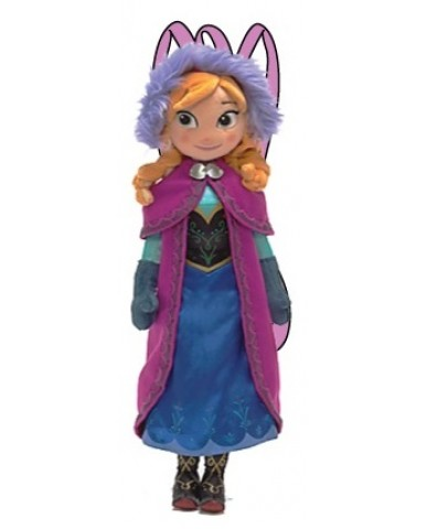 "Disney Frozen 17"" Anna Plush Backpack"