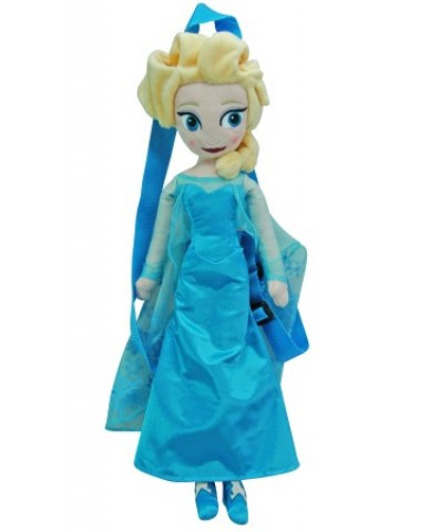 "Disney Frozen Elsa 17"" Plush Backpack"