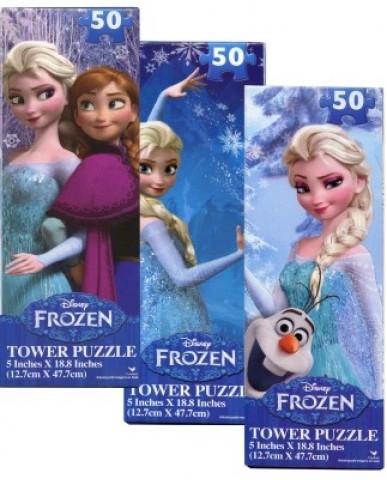 "Disney Frozen 3.5"" x 10"" Tower Puzzles"