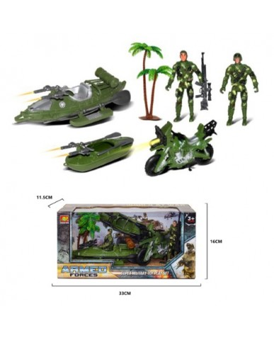 Action Military Play Set