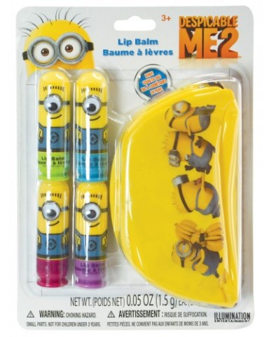 Minions 4-PK Googly Eye Lip Balm