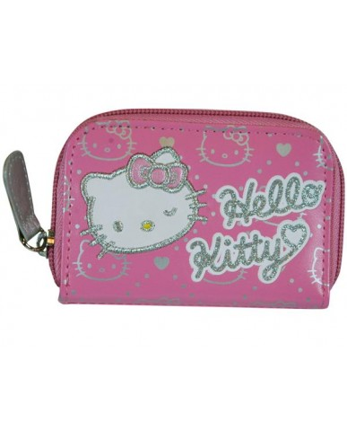 Hello Kitty Zip Around PVC Wallet