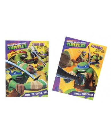 96 pg tmnt coloring book - Teenage Mutant Ninja Turtles Coloring Book