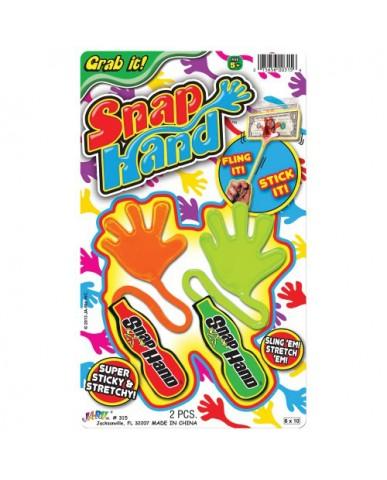 2 pk Snap Hand