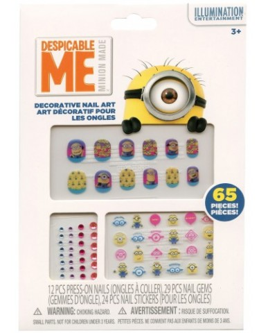 Minions Decorative Nail Art