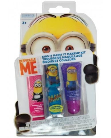 Minions 3-PC Makeup Kit