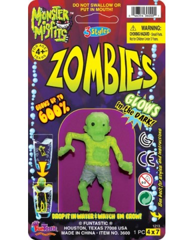 Growing Glow-In-The-Dark Zombies