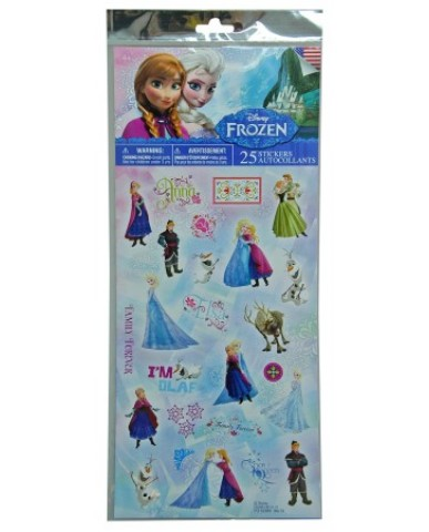 Disney Frozen 25pc Sticker Sheet