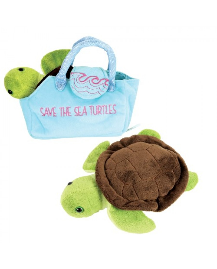 "8"" Sea Turtle-In-A-Purse"