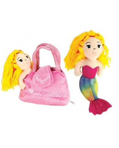 "8"" Mermaid-In-A-Purse"