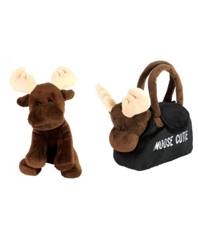 "8"" Moose-In-A-Purse"