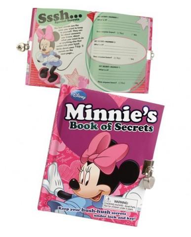 Disney Vintage Minnie Mouse Book of Secrets