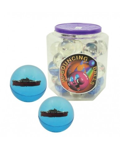 45mm Battleship Hi-Bounce Balls in Tub