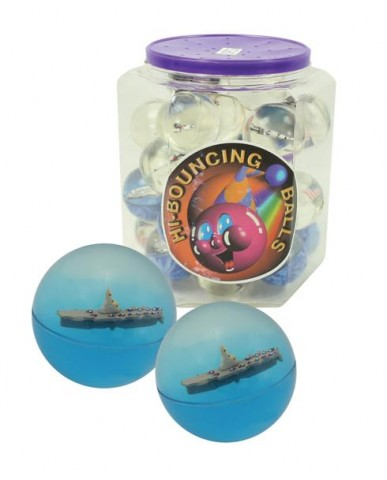 45mm Aircraft Carrier Hi-Bounce Balls in Tub