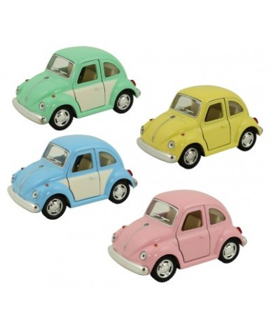 "4"" Pastel & Two-Tone VW Beetle Funny Cars"