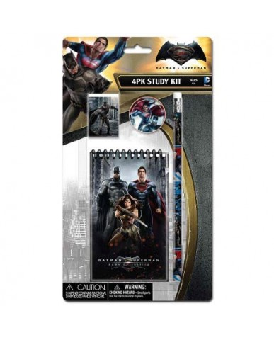 Batman vs. Superman 4-pc Study Kit