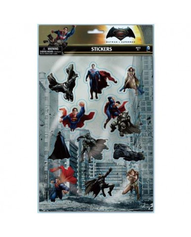 Batman vs. Superman Puffy Stickers