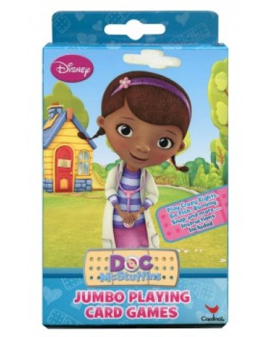 Doc McStuffins Jumbo Playing Cards
