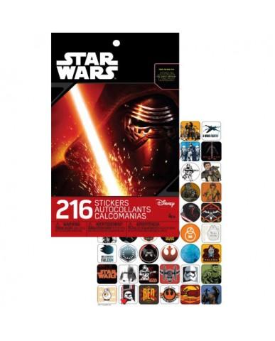 Star Wars Ep. 7 Foil Sticker Pad
