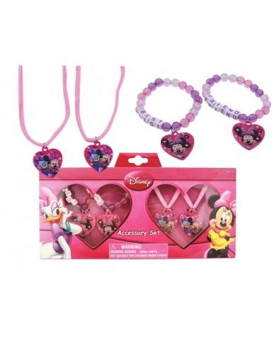 Disney Minnie Best Friends Jewelry Set