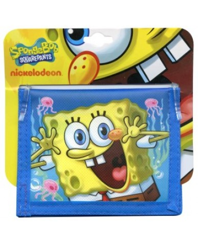 SpongeBob Non-Woven Kids Wallet