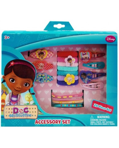 Doc Mc Stuffins 20pc Hair Accessories Set