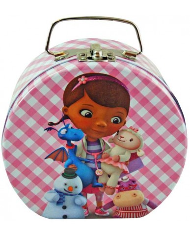 Doc McStuffins Semi-Round Shaped Tin Box