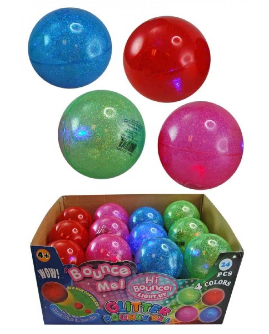 """3"""" Light Up Hi-Bounce Ball"""