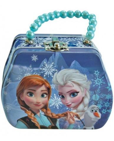Disney Frozen Tin Purse with Beaded Handle