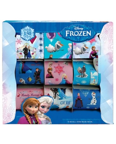 Disney Frozen 9 Roll Sticker Box