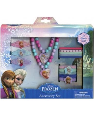 Disney Frozen 15 PC Accessories Jewelry Set