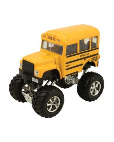 """4.25"""" Monster Shorty School Bus"""