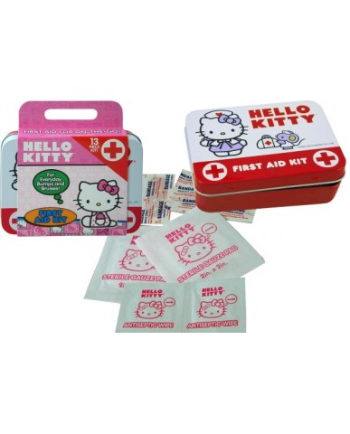 Hello Kitty 13 pc First Aid Travel Kit