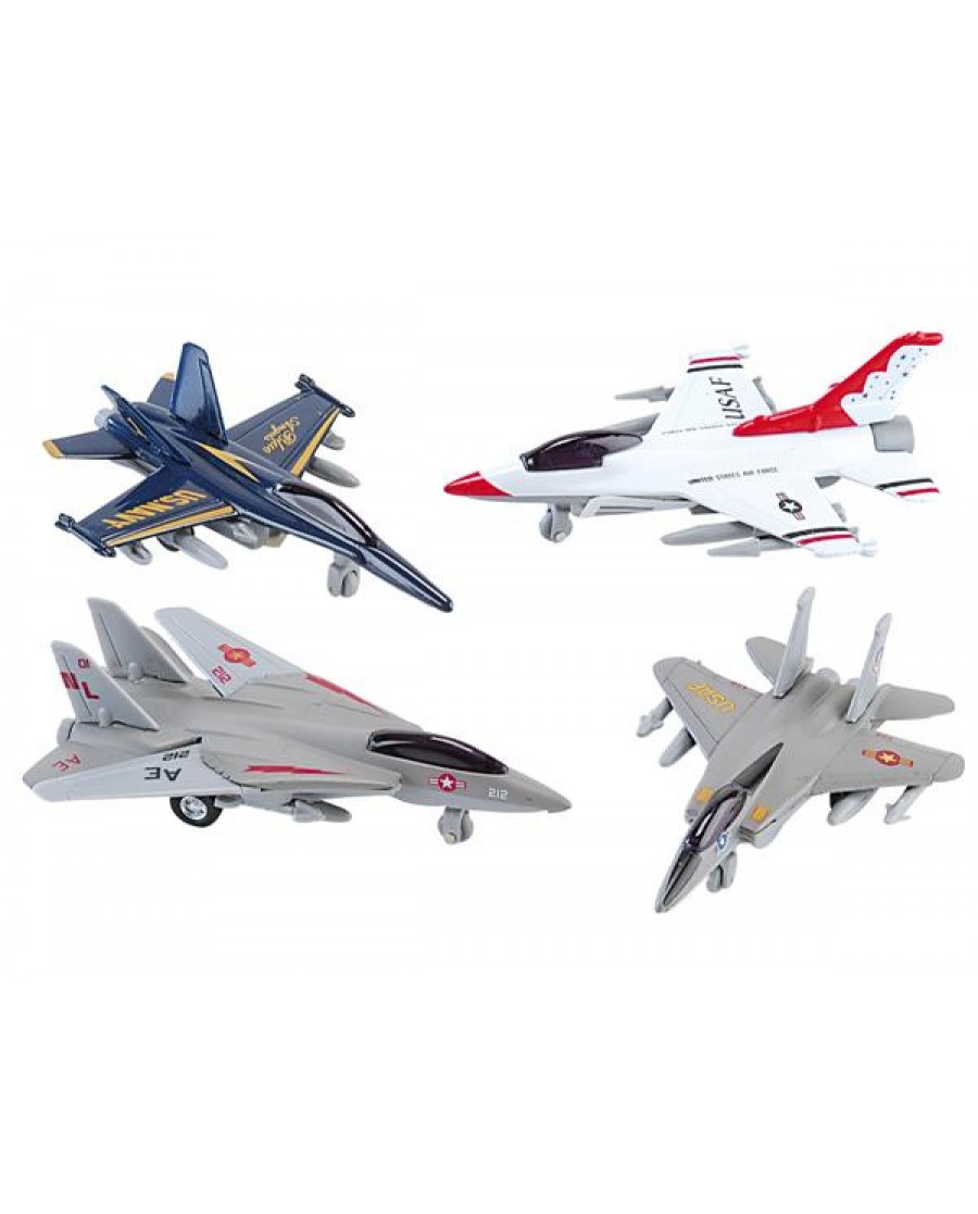"3.5"" Assorted Mini Jet Fighter"