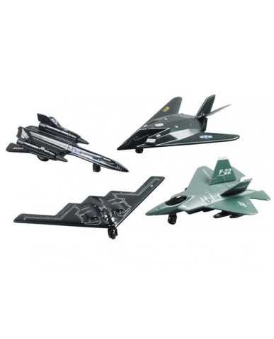 "4.5"" Assorted Mini Jet Fighter"