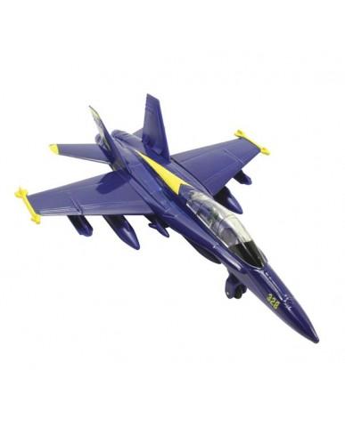 """6"""" F-18 Hornet Blue Angel"""