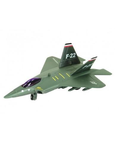 "7"" Light & Sound F/A 22 Raptor Air Force Fighter"