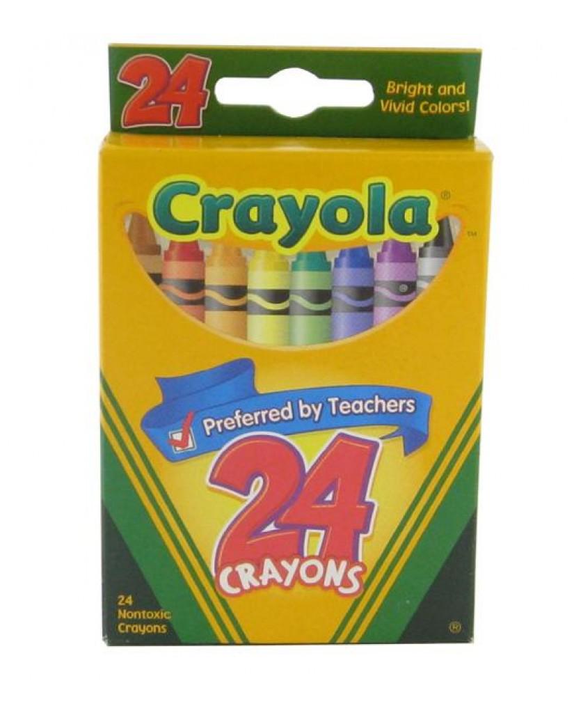 24-Count Crayola Crayon Set